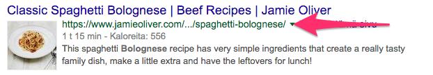 Jamie Oliver esimerkki